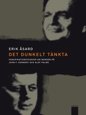 cover image of Det dunkelt tänkta