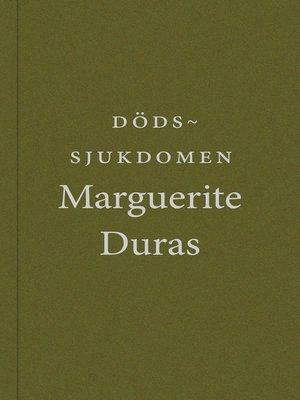 cover image of Dödssjukdomen