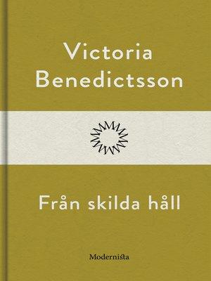 cover image of Från skilda håll