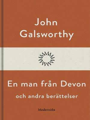 cover image of En man från Devon och andra berättelser