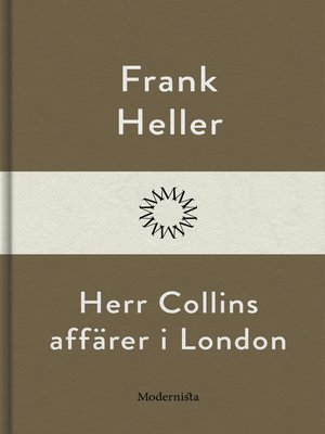 cover image of Herr Collins affärer i London