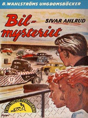 cover image of Tvillingdetektiverna 20--Bil-mysteriet