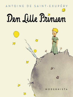 cover image of Den lille prinsen