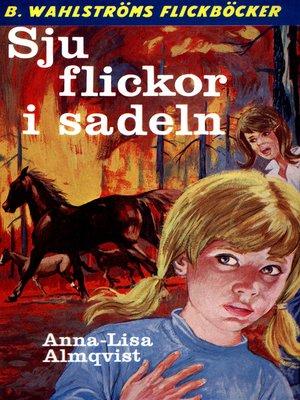 cover image of Sju flickor i sadeln