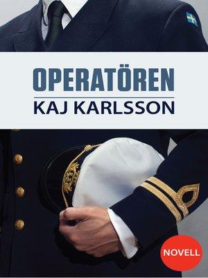cover image of Operatören