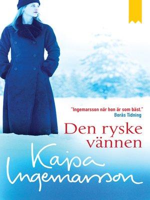 cover image of Den ryske vännen