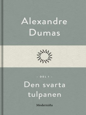 cover image of Den svarta tulpanen 1