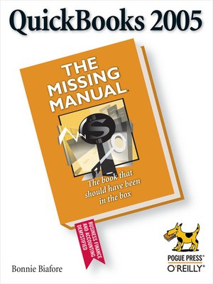 cover image of QuickBooks 2005:  the Missing Manual