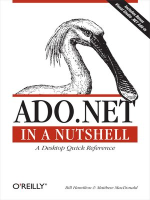 cover image of ADO.NET in a Nutshell