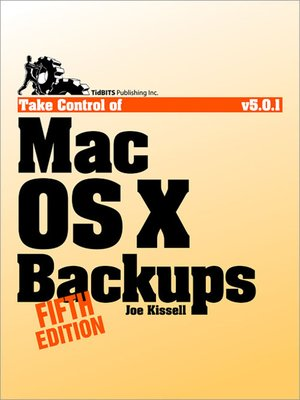 cover image of Take Control of Mac OS X Backups