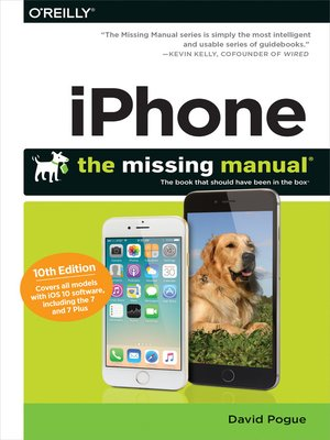 cover image of iPhone: The Missing Manual