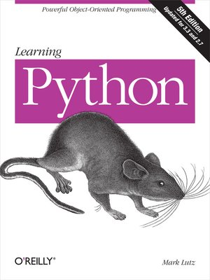 cover image of Learning Python