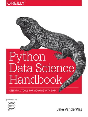 cover image of Python Data Science Handbook