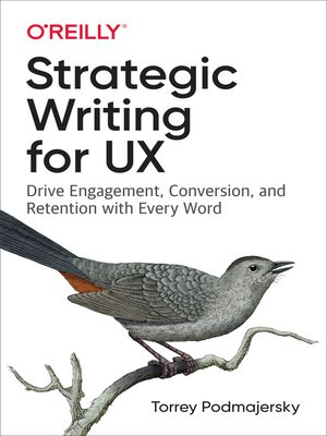cover image of Strategic Writing for UX