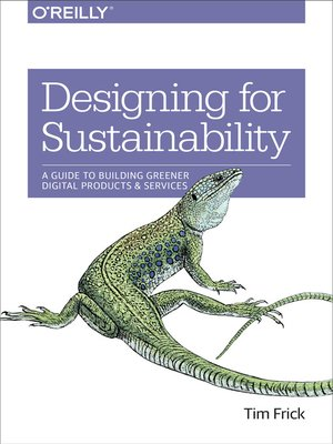 cover image of Designing for Sustainability