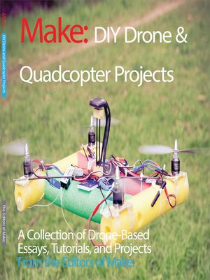 cover image of DIY Drone and Quadcopter Projects