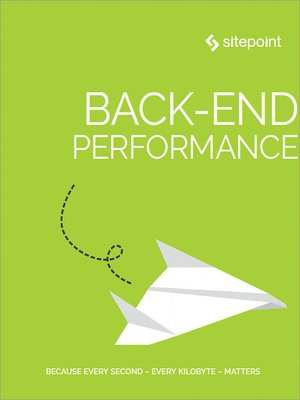 cover image of Back-end Performance