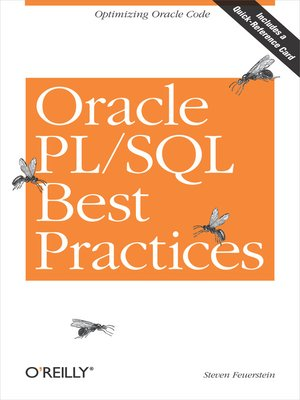 cover image of Oracle PL/SQL Best Practices