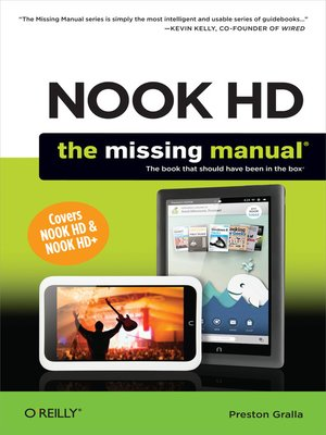 cover image of NOOK HD