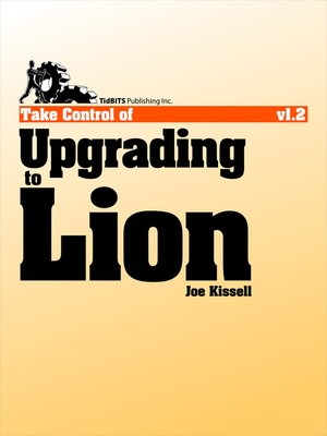 cover image of Take Control of Upgrading to Lion