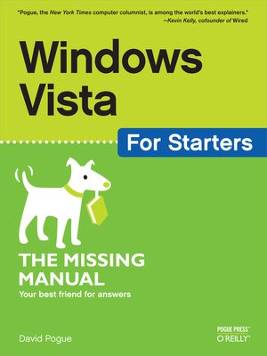 cover image of Windows Vista for Starters