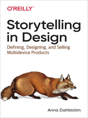 cover image of Storytelling in Design