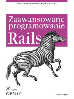 cover image of Rails. Zaawansowane programowanie