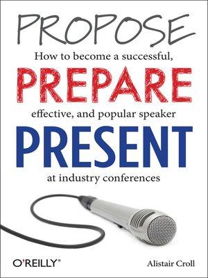 cover image of Propose, Prepare, Present