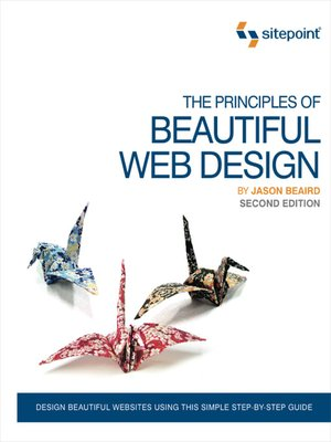 cover image of The Principles of Beautiful Web Design