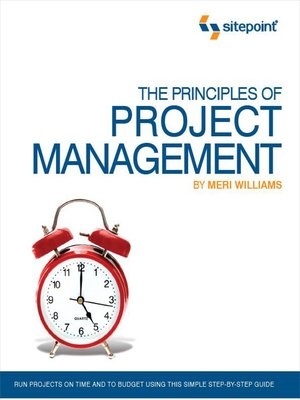 cover image of The Principles of Project Management