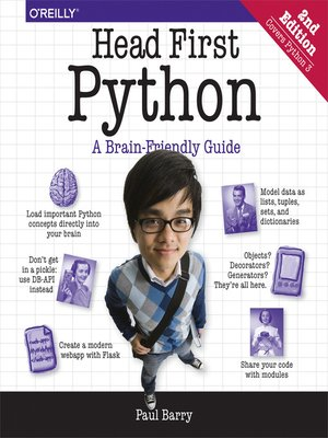 cover image of Head First Python