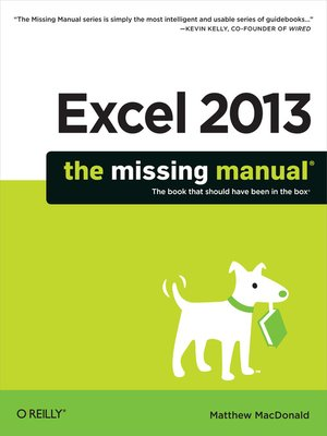 cover image of Excel 2013