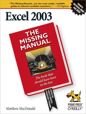 cover image of Excel 2003