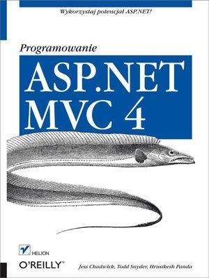 cover image of ASP.NET MVC 4. Programowanie