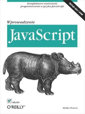 cover image of JavaScript. Wprowadzenie