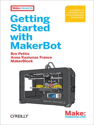 cover image of Getting Started with MakerBot