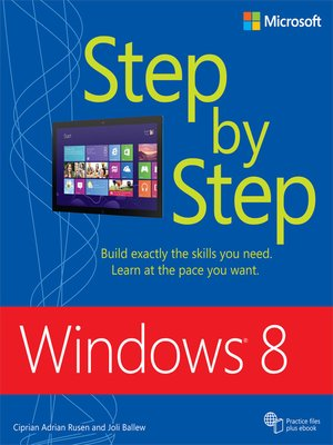 cover image of Windows 8 Step by Step