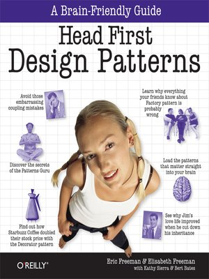 cover image of Head First Design Patterns