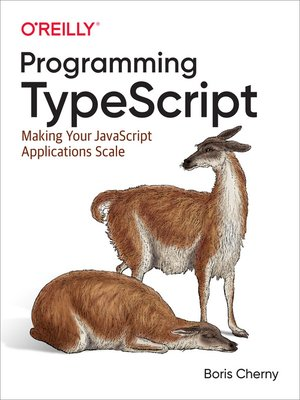 cover image of Programming TypeScript