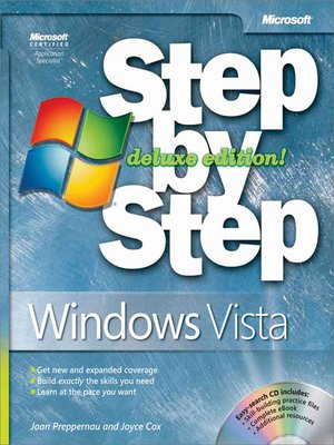 cover image of Windows Vista® Step by Step Deluxe