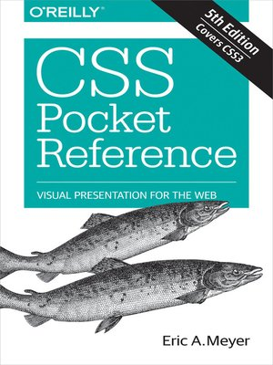 cover image of CSS Pocket Reference