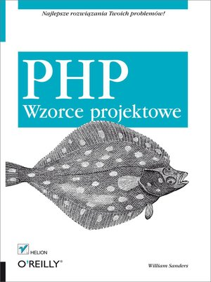 cover image of PHP. Wzorce projektowe