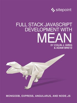 cover image of Full Stack JavaScript Development With MEAN