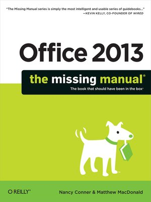 cover image of Office 2013