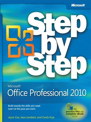cover image of Microsoft® Office Professional 2010 Step by Step