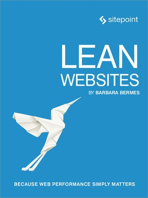 cover image of Lean Websites