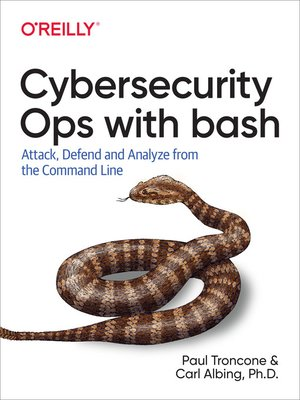 cover image of Cybersecurity Ops with bash