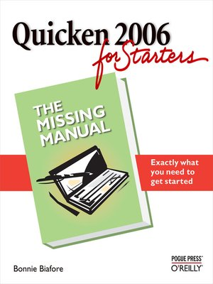 cover image of Quicken 2006 for Starters