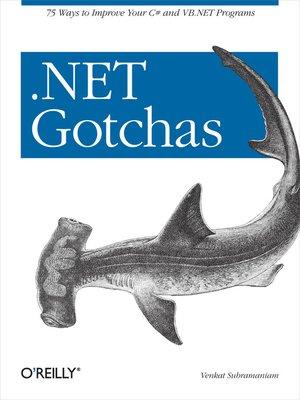 cover image of .NET Gotchas