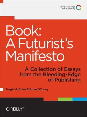 cover image of Book: A Futurist's Manifesto